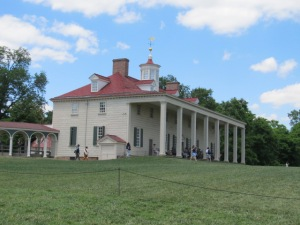 Mt. Vernon facing the Potomac River