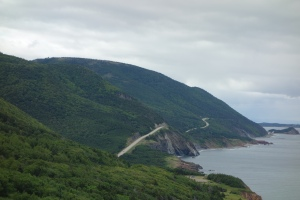 This trail circles this island along the coast.  It is breathtaking around each curve or topping each hill.