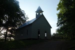 Church in Cade's Cove, TN