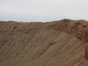 Meteor Crater in the AZ desert