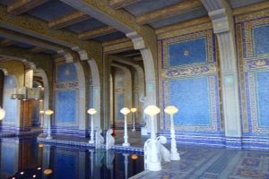 Roman Bath, Hearst Castle