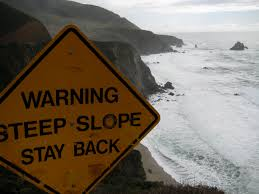 steep warning
