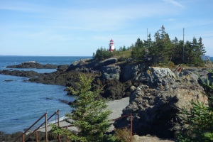 West Quoddy head light (Eastern most point in the US)