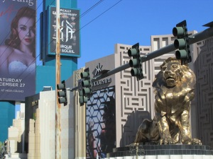 Las Vegas has the rare, endangered golden Lion