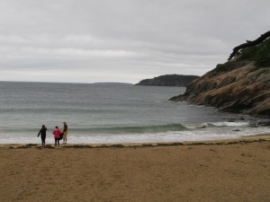 Beach in Acadia National Park