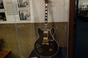 BB King's sweet Lucille, signed and dated.