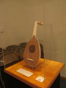 The only existing all ivory Lute, circa 1550