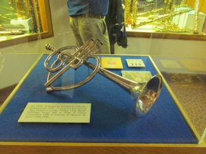 Trumpet/prop from The Beatle's Sargent Pepper Movie