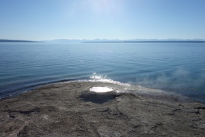 West Thumb of Yellowstone Lake, thermal area