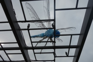Dragonfly sclupture