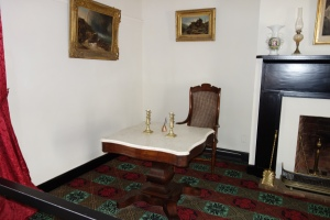 The signing room at the McLean Home